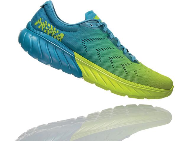 Hoka One One Mach 2 - Zapatillas running Hombre - verde/azul
